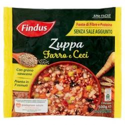 Zuppa di farro e ceci FINDUS con grano saraceno 500gr