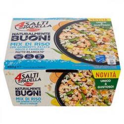 4 Salti in Padella FINDUS mix di riso con gamberetti patata dolce e fagiolini 350gr