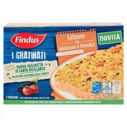 I Gratinati FINDUS salmone con melanzane e pomodori 280gr