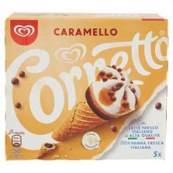 Cornetto ALGIDA caramello 375gr conf. da 5 pezzi