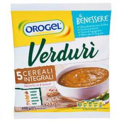 Gran passato Verdurì Il Benessere OROGEL 5 cereali integrali 600gr