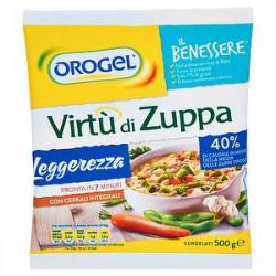 Virtù di zuppa Il Benessere OROGEL leggerezza 500gr
