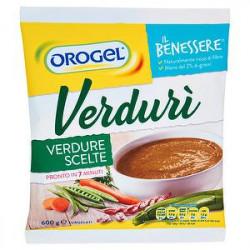 Verdurì Il Benessere OROGEL verdure scelte 600gr