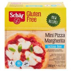 Mini Pizze margherita senza glutine SCHÄR 280gr conf. da 4 pezzi