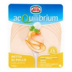 Petto di pollo Aequilibrium AIA cotto al forno 140gr