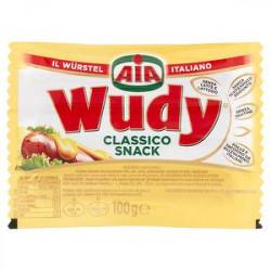 Wurstel Wudy AIA senza glutine classico snack 100gr