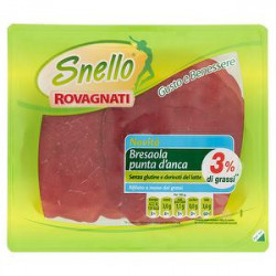 Bresaola gusto e benessere snello ROVAGNATI 90gr