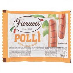 Würstel Pollì FIORUCCI con pollo e tacchino 100gr