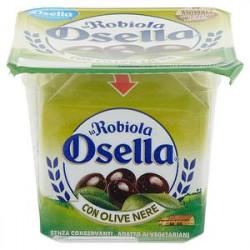 La Robiola fattorie OSELLA con olive nere 90gr
