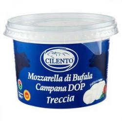 Mozzarella di bufala dop CILENTO treccia 250gr