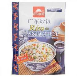 Riso alla cantonese ARNABOLDI con verdure 185gr
