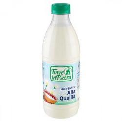 Latte fresco intero TORRE IN PIETRA alta qualità 1l