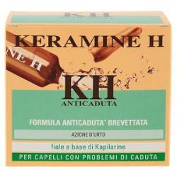 Fiale per capelli con problemi di caduta KERAMINE H conf. da 12 pezzi