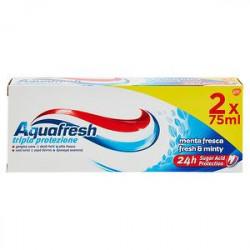 Dentifricio tripla protezione AQUAFRESH conf. 75ml x 2 pezzi