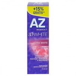 Dentifricio 3D white ultra white AZ premium 75ml