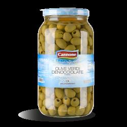 Olive verdi denocciolate 580gr