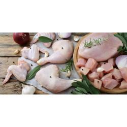 Tagliata di pollo con coscio 500g