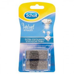 Ricariche Roll SCHOLL velvet soft esfoliante 2 pezzi