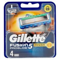 Ricarica rasoio Fusion ProGlide GILLETTE power conf. da 4 pezzi
