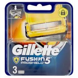 Ricambi Rasoio Fusion Proshield GILLETTE conf. da 3 pezzi