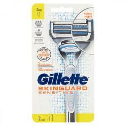 Rasoio Skinguard Sensitive GILLETTE + 2 lame di ricambio
