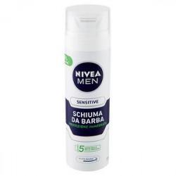 Schiuma da barba Sensitive NIVEA men 200ml