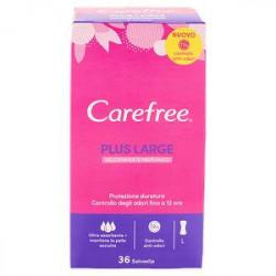 Proteggi-slip CAREFREE plus large conf. da 36 pezzi