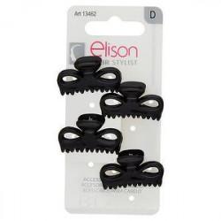 Pinze mini classic black ELISON conf. da 4 pezzi