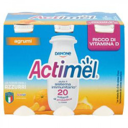 Actimel DANONE agrumi conf. 100gr x 6 pezzi