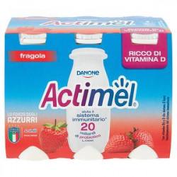 Actimel DANONE fragola conf. 100gr x 6 pezzi
