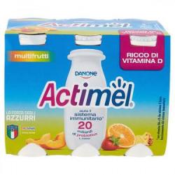 Actimel DANONE multifrutti conf. 100gr x 6 pezzi