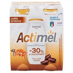 Yogurt Actimel DANONE caffè arabica conf. 100gr x 4 pezzi