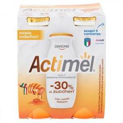 Yogurt Actimel DANONE miele millefiori conf. 100gr x 4 pezzi