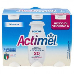 Actimel DANONE bianco conf. 100gr x 6 pezzi