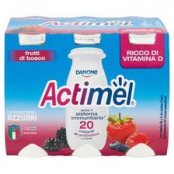Actimel DANONE frutti di bosco conf. 100gr x 6 pezzi