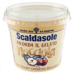 Yogurt magro bio Ricorda il Gelato SCALDASOLE nocciola 250gr
