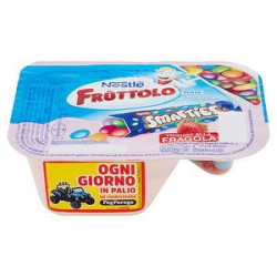 Fruttolo Yogurt & Smarties NESTLE alla fragola 120gr