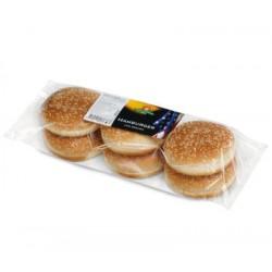 Panini maxi hamburger con sesamo 300 gr