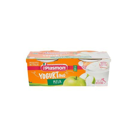 Yogurtino PLASMON mela conf. 100gr x 2 pezzi