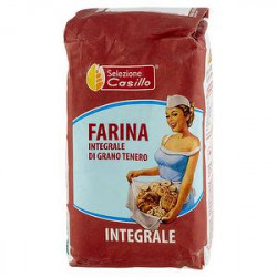 Farina integrale di grano tenero SELEZIONE CASILLO 1kg