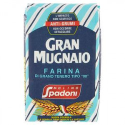 "Farina ""00"" Gran Mugnaio MOLINO SPADONI 1kg"