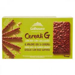 Cereali G Cracker GALBUSERA Cioccolato 150gr