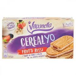 Cereal YO VITASNELLA frutti rossi 253gr conf. da 5 porzioni