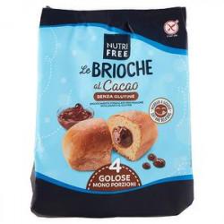Brioche NUTRIFREE senza glutine al cacao 200gr conf. da 4 pezzi