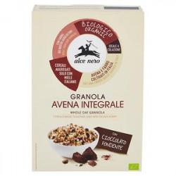 Granola con cioccolato fondente ALCE NERO bio 300gr