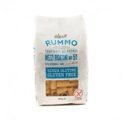 Mezzi rigatoni n°51 gluten free 400 gr
