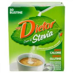 Dolcificante Cuor di Stevia DIETOR 30gr conf. da 30 bustine