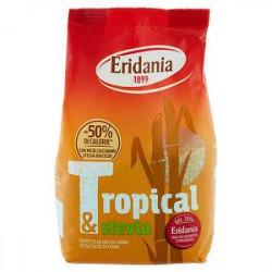 Zucchero di canna ERIDANIA tropical & stevia 500gr