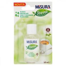 Dolcificante Stevia liquida MISURA 50ml