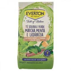 Preparato solubile per tè EVERTON matcha menta liquirizia 560gr